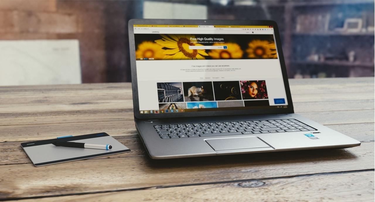 Un site Wix comme vitrine Internet...